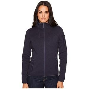 Arc'teryx Women's COVERT HOODY — Black Heather